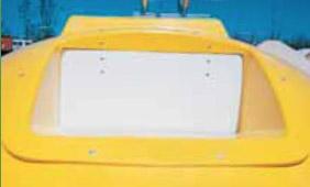 """vhoz na plasty, papír """"Fasold"""", 39x16cm"""