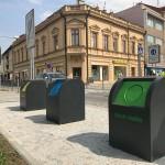 Podzemní kontejnery CITY Q-3m3 v Prostějově