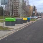 Polopodzemní kontejnery v Třinci